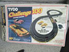 1a tyco challenge 100 race set no cars able to use other slot cars