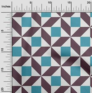 oneOone Triangle,Parallelogram & Square Geometric Sewing Fabric By-GMD-1070A_2