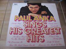 LP - Paul Anka - Sings His Greatest Hits - Club Sonderauflage
