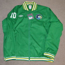 NWT Pele New York Cosmos #10 Umbro Warm Up Track Jacket XL NASL Soccer