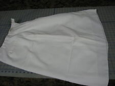 womens US ARMY dress skirt white w/ liner unhemed 14 WT ball class A