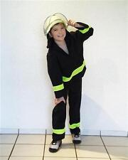 Feuerwehruniform Feuerwehranzug  Karneval Kinder Kostüm Feuerwehrkostüm 128