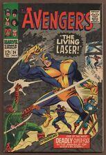 """Avengers #34 ~ """"The Living Laser!"""" ~ 1966 (8.0) WH"""