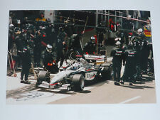 Signed David Coulthard A4 Size photo