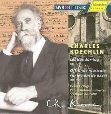CHARLES KOECHLIN: LES BANDER-LOG; OFFRANDE MUSICALE SUR LE NOM DE BACH (NEW CD)