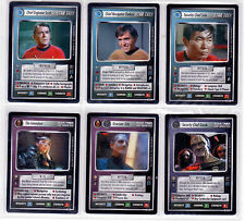 Star Trek CCG Mirror Mirror Complete Mint Set Direct from Decipher Packets.