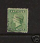 Antigua 4a used catalog $87.50