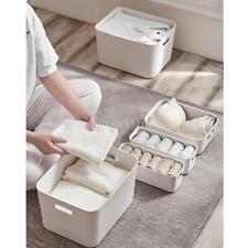 Home Storage Box Underwear Basket Sundries Drawer Home Organizer Bins Closet