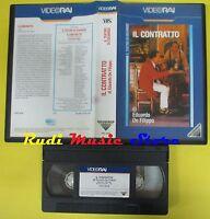 film VHS IL CONTRATTO 1981 il teatro di eduardo de filippo VIDEORAI (F63) no dvd