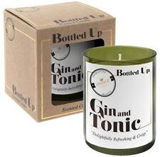 Gin & Tonic Scented Candle G&T Wine Bottle Gift Idea