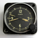 Jaeger LeCoultre Type A-11 8-Days AIRCRAFT CLOCK USA Navy Longines-Wittnauer Co