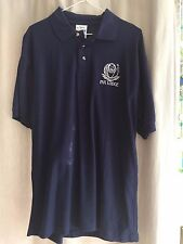 Girl Scout polo shirt Navy Pax Lodge Medium