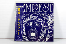TEMPEST: LIVING IN FEAR, 1974, AUTHENTIC JAPAN MINI LPCD, 20BIT K2, RARE, OOP