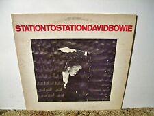DAVID BOWIE, STATION TO STATION, CLASSIC 1976 NEAR MINT, SUPER FUNK ROCK