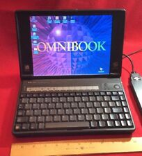 HP OmniBook 800CT 5/133 Mini Laptop 1.34GB Windows 95 Vintage Notebook .