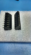 New and unused 8-Way Angled PCB mounting terminal block (5-Pieces)