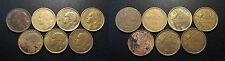 IVème République - lot de x7 20 francs Guiraud, types différents
