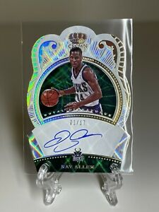 2020-21 Crown Royale Royal Signatures Ray Allen Serial# 1/17 RARE 💎💎