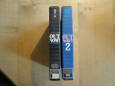 Out Now! On Video 1 - 2 --- UK Musik --- 2 VHS komplett -- 80er Eighties --- rar