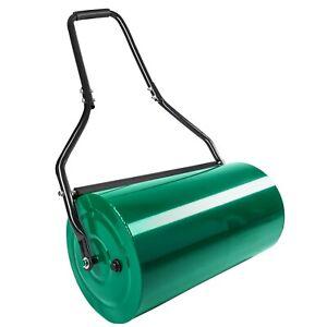 Rullo per giardino compressore 60cm manuale metallo arieggiatore agricolo erba