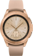 Samsung Galaxy Watch 42mm - Rose Gold Stainless Steel SmartWatch, Android + IOS
