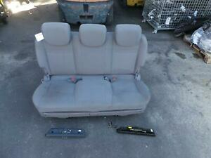 SSANGYONG STAVIC CLOTH 3RD ROW BENCH SEAT, A100, 06/13-01/16