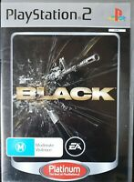 PS2 Black Inc Manual