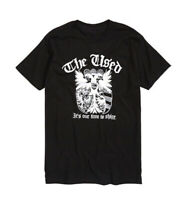 The Used A BOX FULL OF SHARP OBJECTS CREST LOGO T-Shirt NWT Licensed & Official