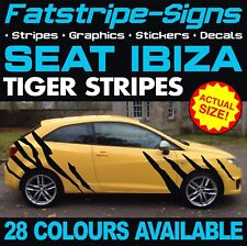 Seat Ibiza Graphics Tiger Stripes Stickers Autocollants Sport Cupra R Fr GTI 1.6 2.0