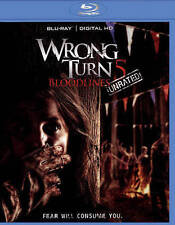 Wrong Turn 5: Bloodlines (Blu-ray Disc, 2015) - **DISC ONLY**