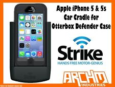 STRIKE ALPHA APPLE IPHONE 5 & 5s CAR CRADLE FOR OTTERBOX DEFENDER CASE - CHARGER