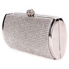 888c08d95ddc Bonito Bolso de Mujer de Fiesta Boda Con Brillante Diamantes Cierre por  Boquilla