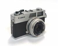 Canon Canonet 28 35mm Film Rangefinder Camera w/40mm f2.8 Lens As Is Not Tested