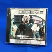 NEW* Outlawz – Ride Wit Us Or Collide Wit Us CD Album 2000 Hype Sticker Explicit