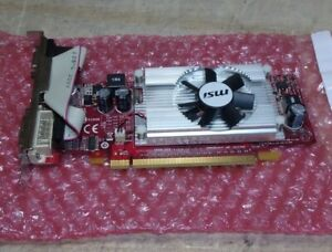 MSI GeForce 210 VN210-MD512 Video Graphics Card 512MB PCIe VGA HDMI DVI