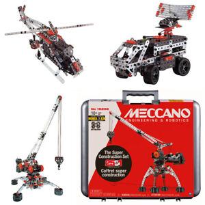 Meccano Super Construction Set 25 Models with Case