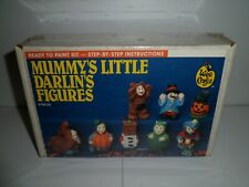 Vintage Wee Crafts Halloween Mummy's Little Darlin's Figures Accents Unlimited