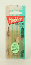 Vintage  Fishing Lure Heddon New Sonar Flash Pink White Red Taped bubbl     B1F1
