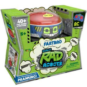 Remote Control Really RAD Robots - Fartbro Playset Toy Xmas Gift For Kid's LF