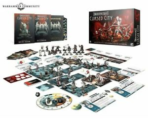 Warhammer Quest Cursed City Table Top Board Game