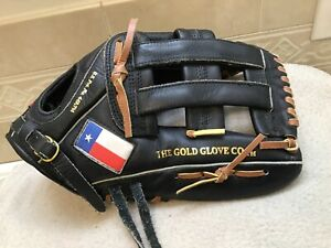 "Rawlings TX127H 12.75"" Texas Flag H-Web Baseball Softball Glove Right Hand Throw"