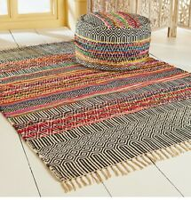 Rishikesh handloom recycled Indoor outdoor Indian rugs 4 sizes