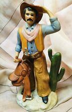 Homco Cowboy Ceramic Figurine #1419