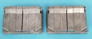 LOT OF 2 NEW CROUSE-HINDS 4.058.358 WET/DAMP LOCATION OUTLET COVERS 0-401138-1