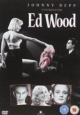 ED WOOD de Tim Burton en DVD - Johnny Depp (castellano)