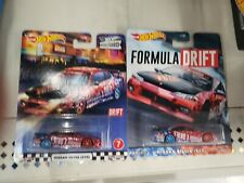 Hot Wheels Nissan Silvia (S15) on 2 Different Cards Boulevard & Formula Drift