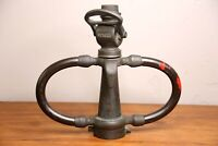 Antique Brass American LaFrance Fire Hose Nozzle With Handles Fire Truck VINTAGE