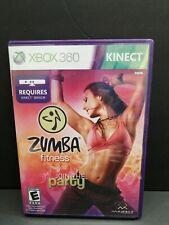 Zumba Fitness (Microsoft Xbox 360, 2010)