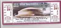 1975 Sugar Bowl football ticket Alabama Crimson Tide v Penn State Nittany Lions