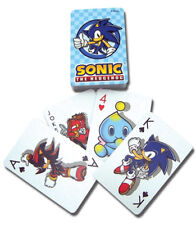 SONIC THE HEDGEHOG - PLAYING CARD DECK - 52 CARDS - BRAND NEW - 2025